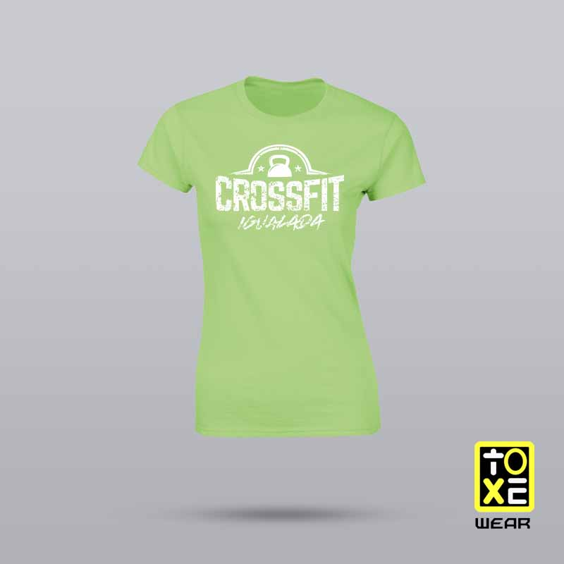 Camisetas CrossFit Igualada Girls